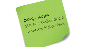 COG's first Annual General Meeting 08/11/2012