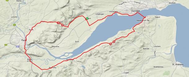 Tour de Tay – thursday evening ride 14-03-13